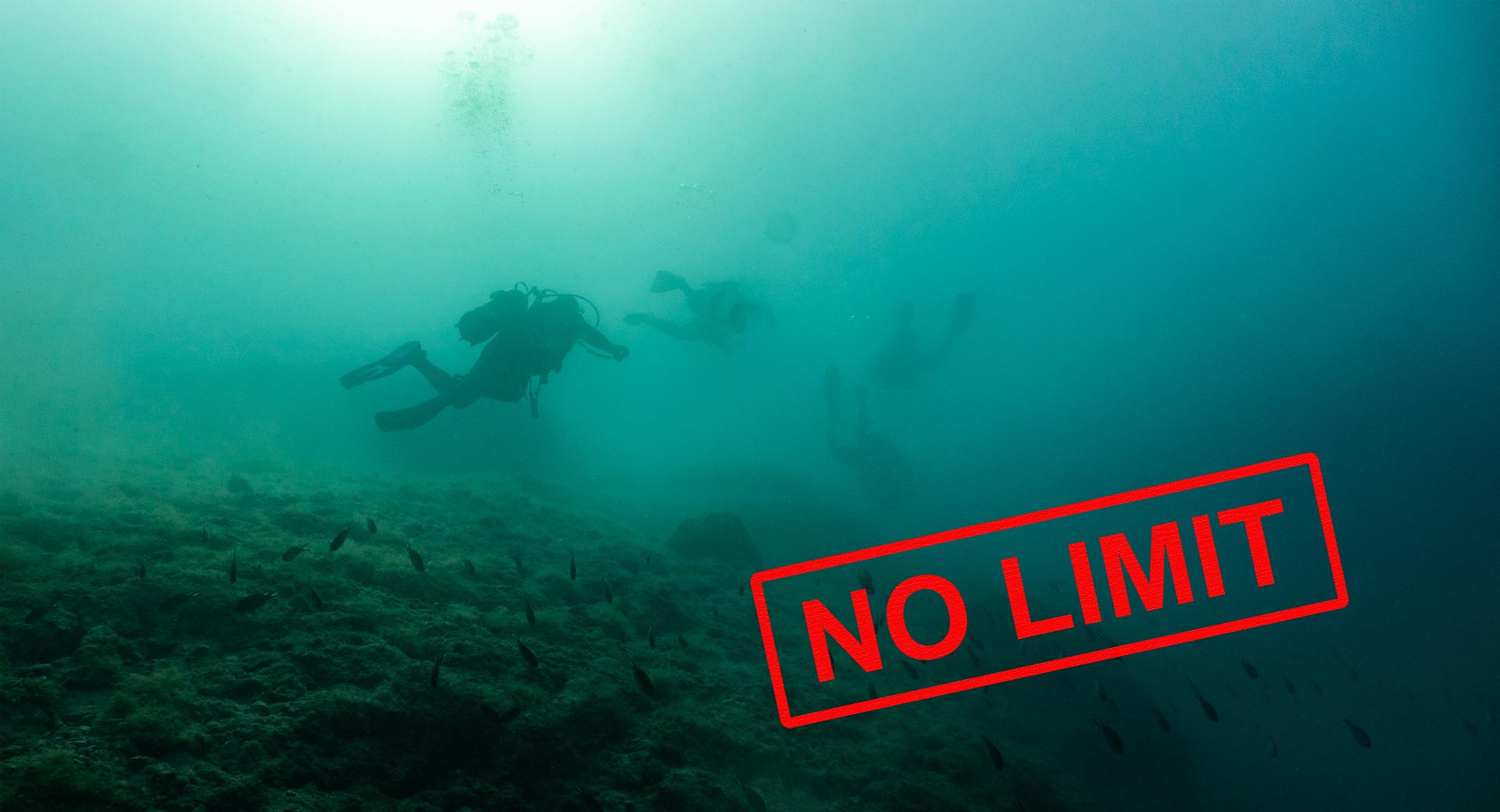 No Limit Diving!